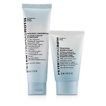 Hyaluronic happy hour 2 piece kit: 1x cleanser 30ml + 1x moisturizer 20ml 241749 2pcs
