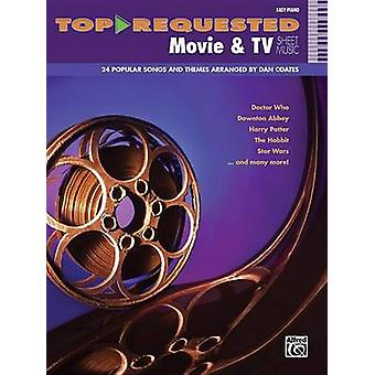 Top-Requested Movie & TV Sheet Music  - Easy Piano - 9780739099001 Book