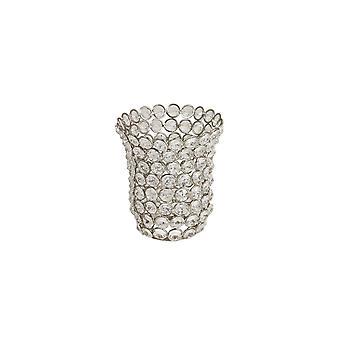 Light & Living Shade 12x14cm Ramona Cup Shaped Glass Crystal