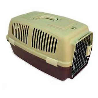 Axis-Biozoo Medium Plastic Carrier for Small Dogs and Cats