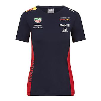 Aston Martin Red Bull Racing Women's Puma Replica Team T-Shirt Proprietà Navy . 2020