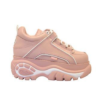 Buffalo 1339babypink Women's Pink Leather Sneakers