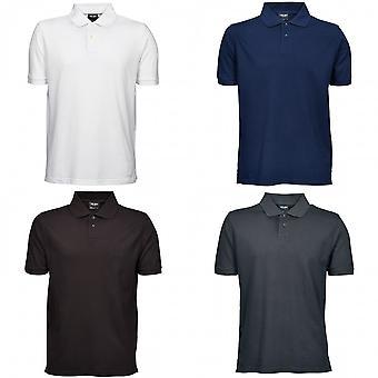 Tee Jays Mens Heavy Pique Short Sleeve Polo Shirt