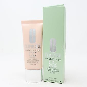 Clinique Moisture Surge Cc Cream Corrector  1.4oz/40ml New With Box