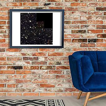 Hubble Telescope - Deep Field Poster Print Giclee