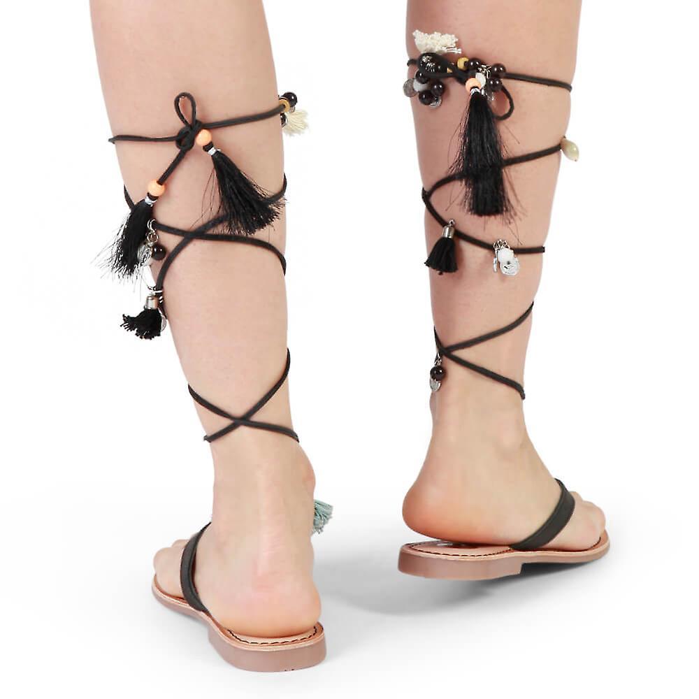 Gioseppo Original Women Spring/summer Flip Flops - Black Color 31633