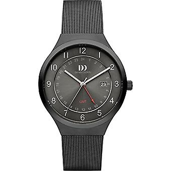 Danish Designs DZ120465-wristwatches, male, stainless steel, color: black