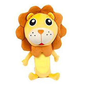 Seatbelt Softie Travel Pals en 4 designs - Lion