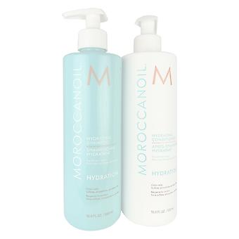 Moroccanoil hydrating shampoo and conditioner duo 16.9 oz