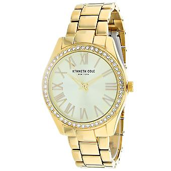 Kenneth Cole Women's Classic Gold Dial Watch - KC50664001