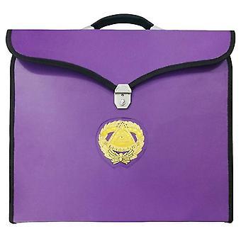 Masonic mm/wm and provincial full dress grand master purple cases ii
