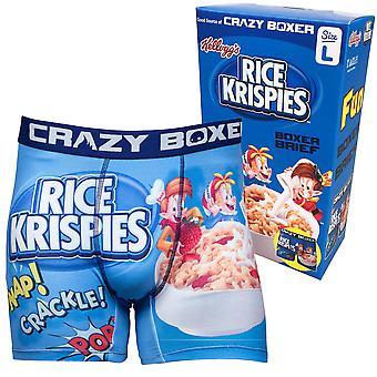 Rice Krispies Boxer Slips dans la boîte de céréales