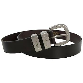 RM Williams Leather Buckle Belt
