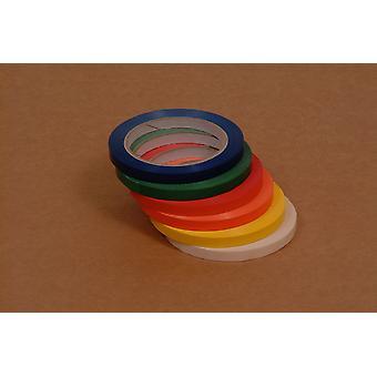 Weller Yellow Coloured Vinyl Butchers Seal Tape