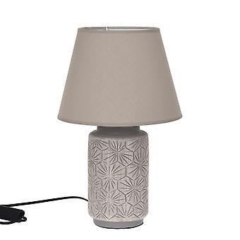 Lamp tabel beige keramische H40 cm