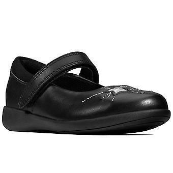 Clarks Etch Spark Girls Infant School Shoes