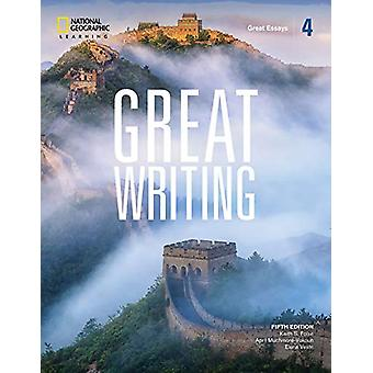 Great Writing 4 - Great Essays by Elena Solomon - 9780357020852 Book