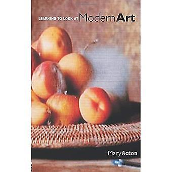 Leren kijken naar moderne kunst