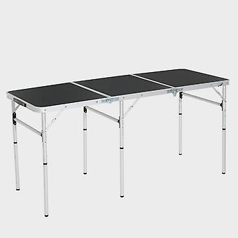 New Hi-Gear Camping Triple Table Natural