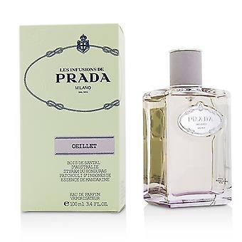 Prada Les инфузии Oeillet Eau De Parfum спрей 100 мл/3,4 унции