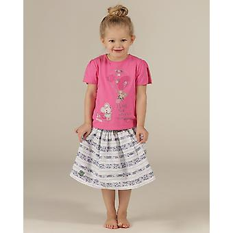 The Essential One Girls Ellie Mouse Print Skirt