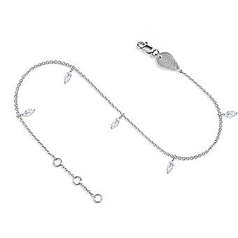 Anklet Milky Way 18K Gold and Diamonds - White Gold
