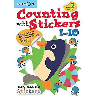 Counting with Stickers 1-10 by Publishing Kumon - 9781941082751 Book