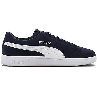 Puma Smash V2 - Herren Schuhe Blau 364989-04 Sneakers Sportschuhe