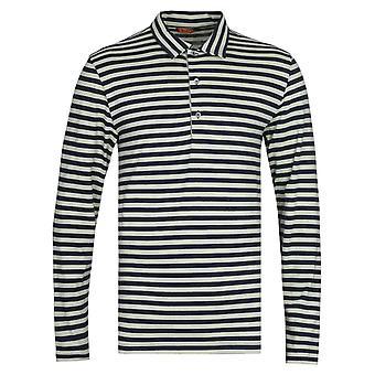Barena Matana Vagador Green & Black Stripe Polo Shirt