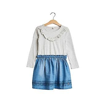 Esprit Girls' Pretty Dress In Jersey And Cloth