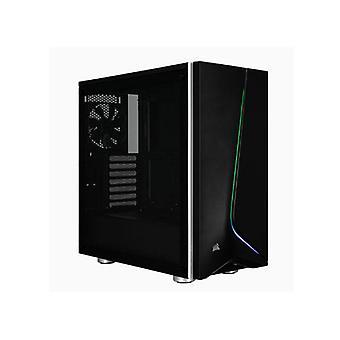 Corsair Carbide Spec06 Black Rgb Tempered Glass Atx Mid Tower Case