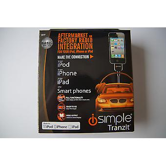 iSimple IS77 iPod and Iphone interface for all vehicles with DIN ISO Fakra