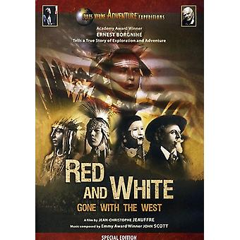 Jules Verne-Red & White-Gone with [DVD] USA import