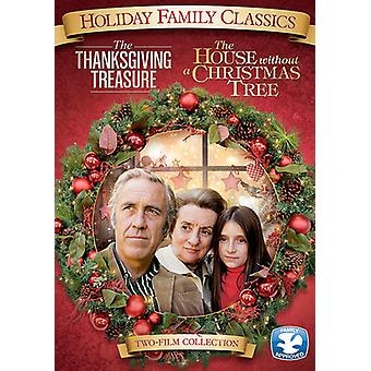 Thanksgiving Treasure/House Without a Christmas [DVD] USA import