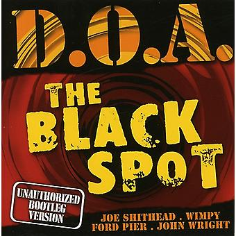 D.O.a. - Black Spot [CD] USA import