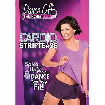Dance Off the Inches - Cardio Striptease [DVD] USA import