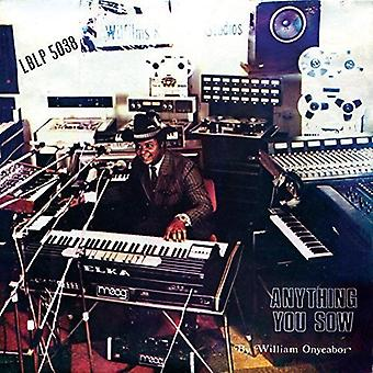 William Onyeabor - Anything You Sow [Vinyl] USA import