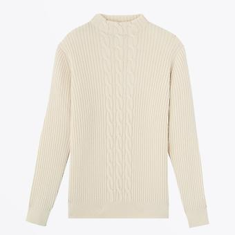 A.P.C.  - Nico - Wool Cable-Knit Sweater - Cream