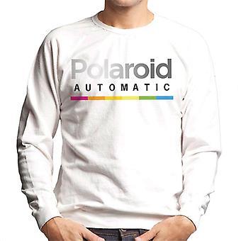Polaroid bunte Farbverlauf automatische Men's Sweatshirt