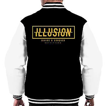 Teilen & erobern Illusion Men's Varsity Jacke