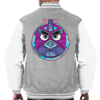Angry Birds Mech Bird Round Men's Varsity Jacket