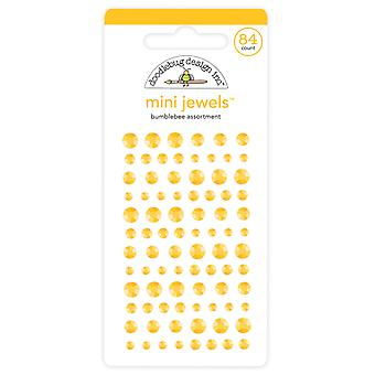 Doodlebug Design Bumblebee Mini Jalokivet (84kpl) (6718)