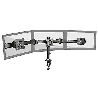Brateck Outstanding Three LCD Desk Mounts with Desk Clamp