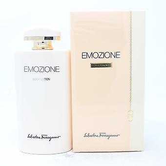 Salvatore Ferragamo Emozione Body Lotion 6.8oz/200ml Ny med box