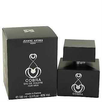 Cobra Eau De Toilette Spray By Jeanne Arthes