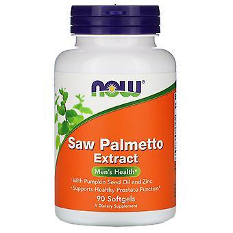 Agora alimentos, serra palmeira extrato, com óleo de semente de abóbora e zinco, 160 mgs, 90 Sof