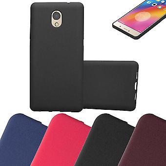 Cadorabo Case for Lenovo P2 Case Cover - Flexible TPU Silicone Case Case Ultra Slim Soft Back Cover Case Bumper