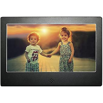 DIGIFLEX 7' High Resolution Digital Photo Frame with Blue Backlight + 8GB SD Memory Card & Remote - New Version 2