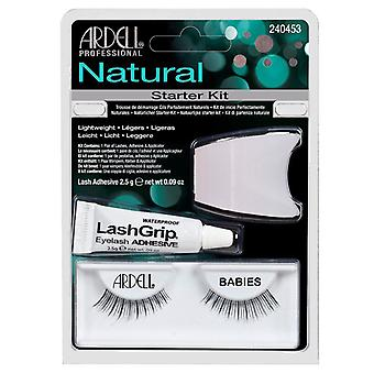 Ardell Natural Lash Starter Kit - Babies - Waterproof Adhesive Included