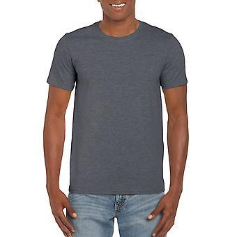 GILDAN G64000 Softstyle Men's T-Shirt in Dark Heather